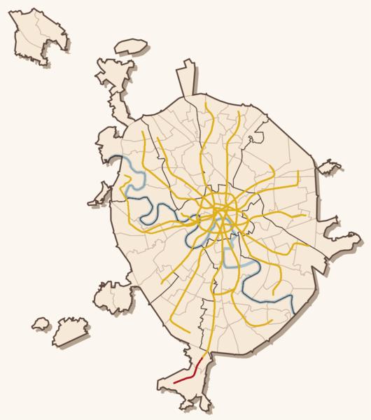 Длина линии — 5,2 км